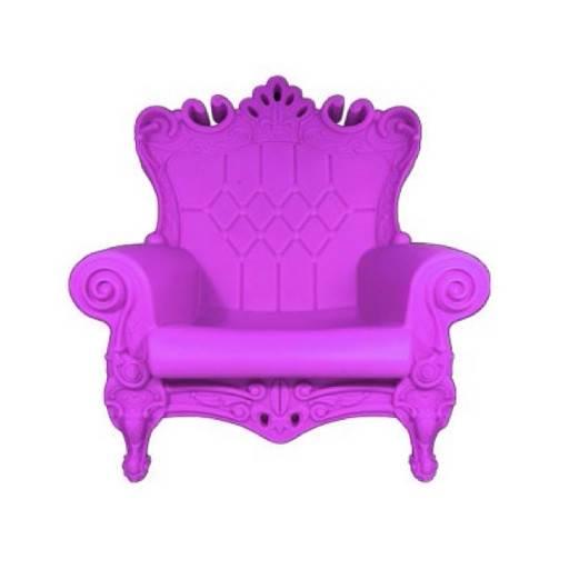 Armchair Queen pink 102x109 cm.