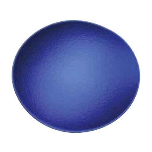 Bajo plato azul 0x0 cm.
