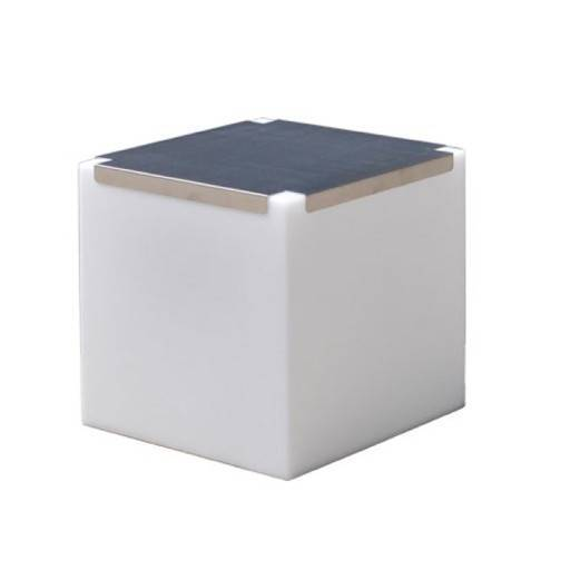 Cube led table 43x43 cm.
