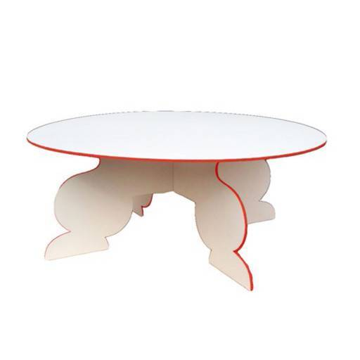 Lounge table round 140 cm.