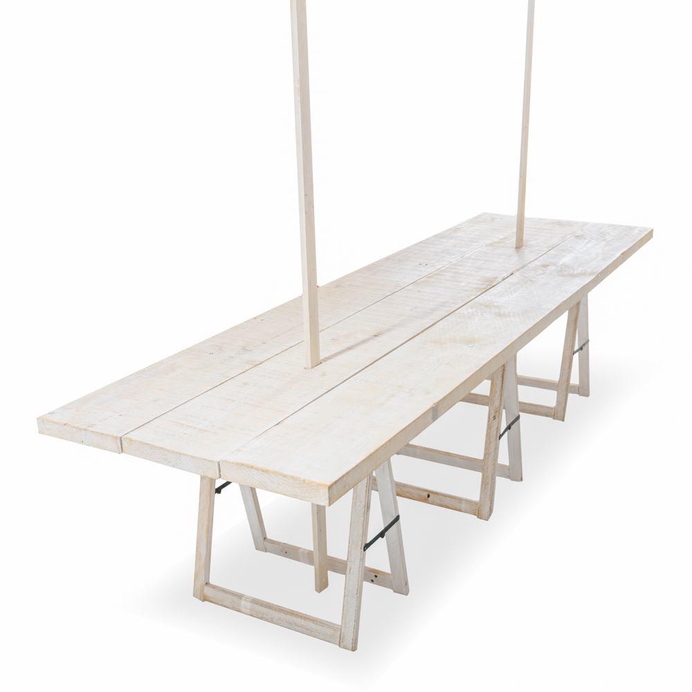 Mesa madera Big T 90x300 cm.