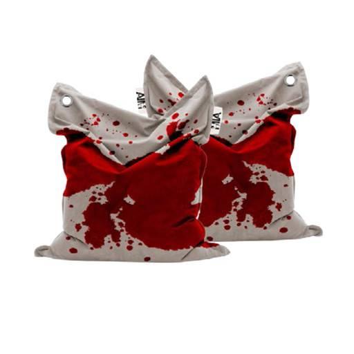 Sitzsack Blut 135x165 cm.