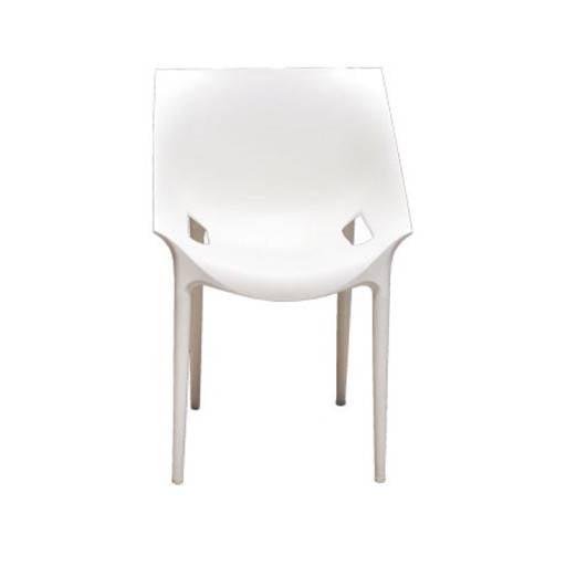 Stuhl modern weiss