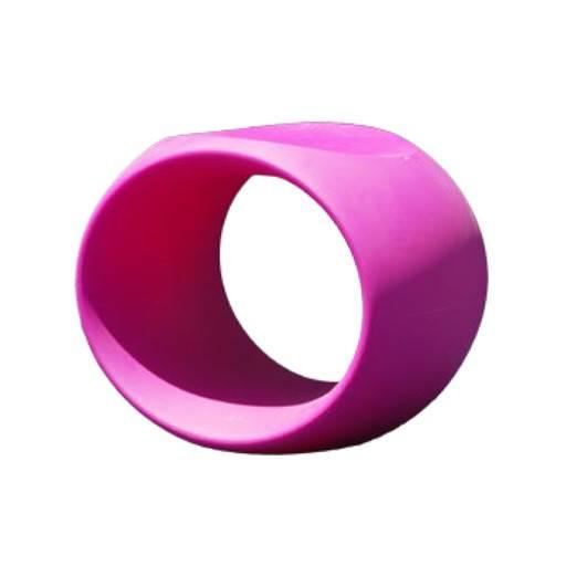 Taburete Cero rosa 40x57 cm.