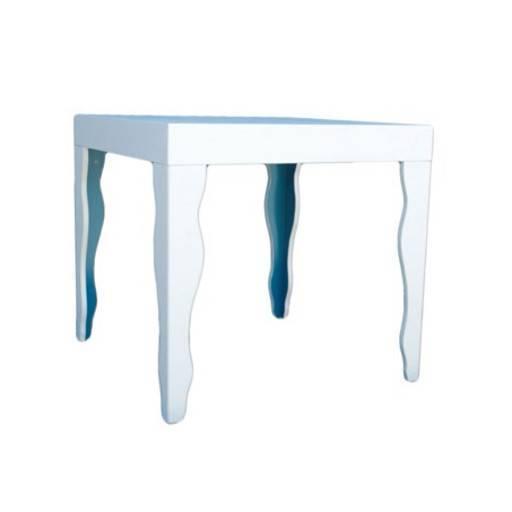 Tisch Quadrat 80x80 cm.