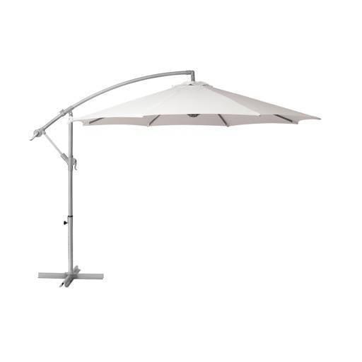 Umbrella white 300 cm.